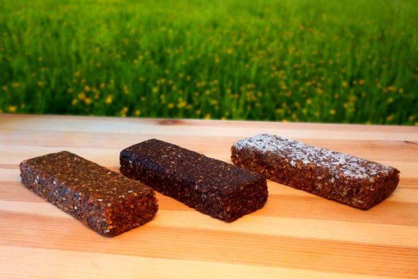Probierset Müsliriegel aus eisenhaltigen Lebensmitteln zur Vorbeugung von Eisenmangel