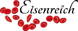 Logo von Eisenreich, Müsliriegel aus eisenhaltigen Lebensmitteln gegen Eisenmangel