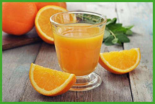 Orangensaft fördert die Verwertung von eisenhaltigen Lebensmitteln und Nahrungsmitteln