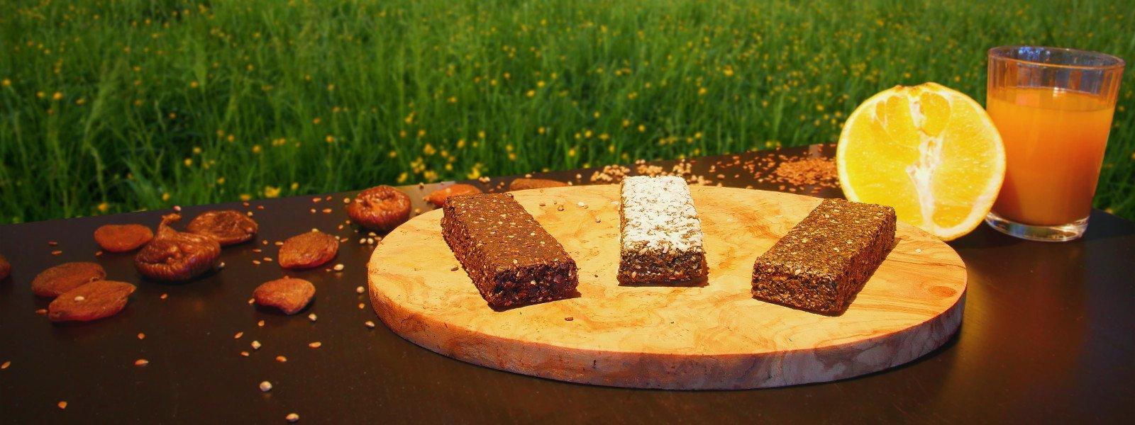 Probierset Müsliriegel aus eisenhaltigen Lebensmitteln zur Vorbeugung von Eisenmangel Slider 1