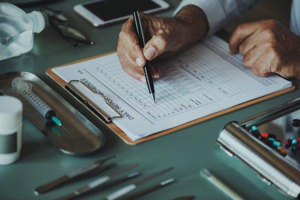 Die Diagnose von Eisenmangel geschieht anhand einer Untersuchung des Blutes